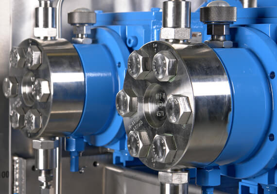 LEWA pumps contain reliable and longlasting components
